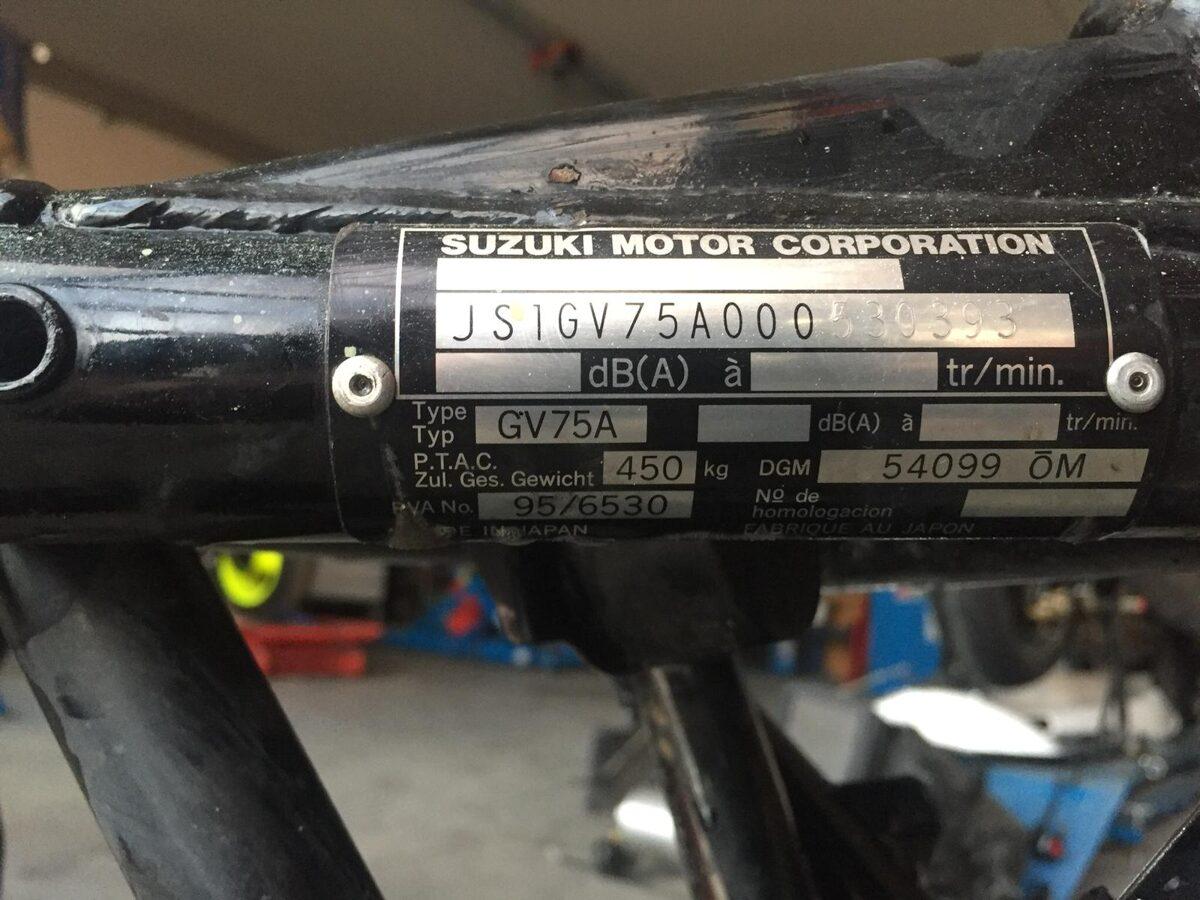Rahmen für Suzuki Bandit 1200S